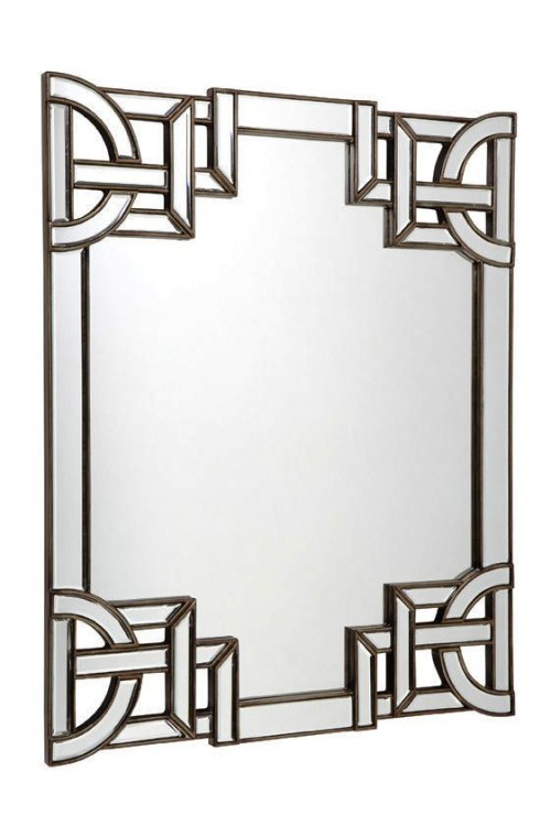 ORIENTAL MIRRORS asian style frame AgathaO House of Design