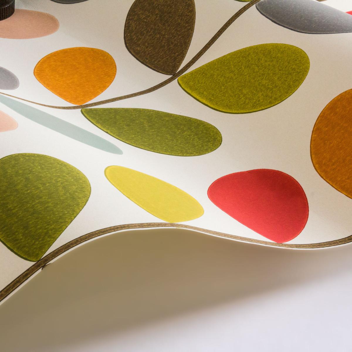 Orla Kiely Multi Stem Wallpaper Agathao House Of Design
