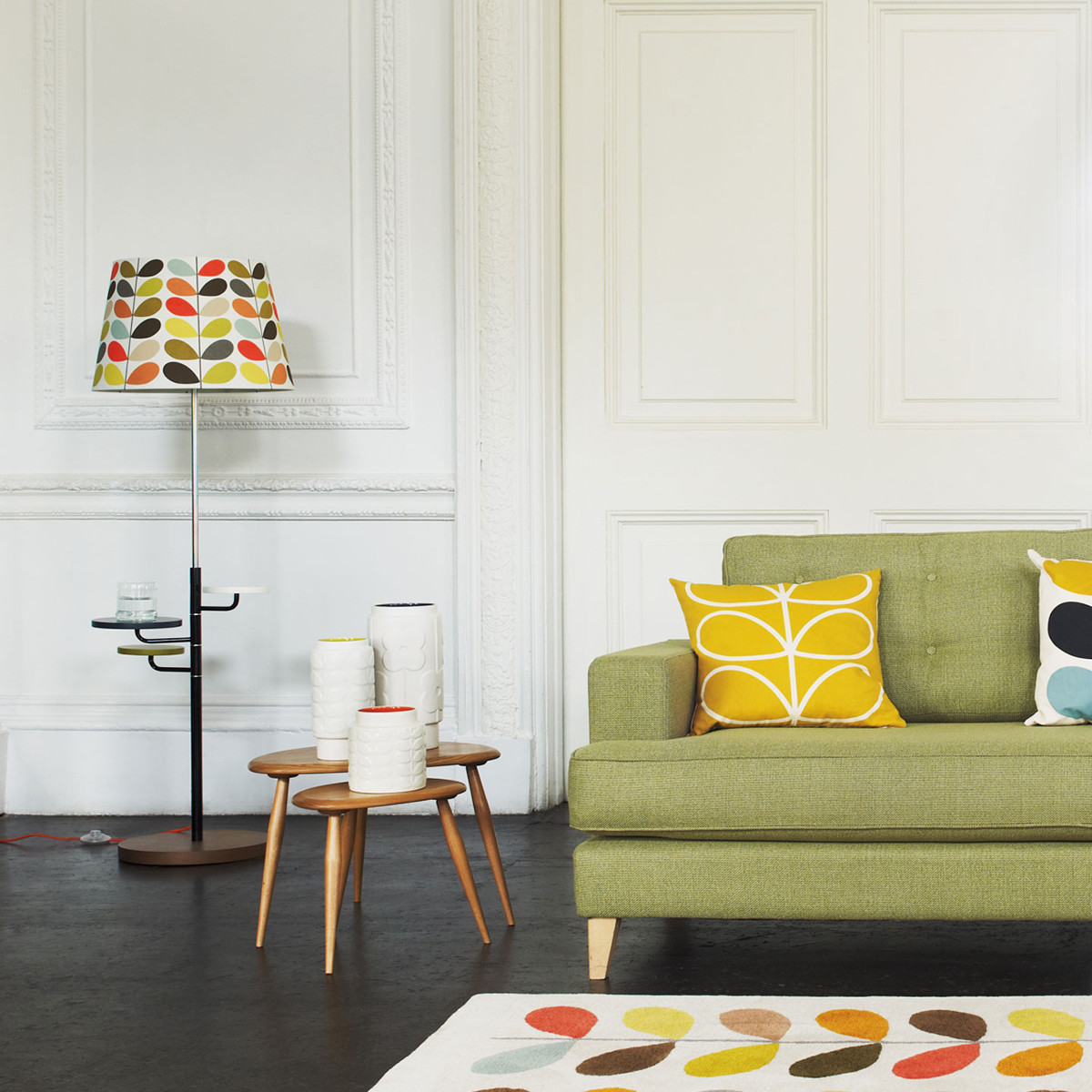 Orla Kiely Multi Stem Wallpaper Agathao House Of Design
